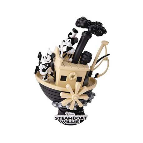Figur Disney Select 90th Mickey Anniversary Steamboat Willie Diorama Beast Kingdom Geneva Store Switzerland