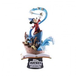 Figurine Disney Select 90th Mickey Anniversary Sorcerer's Apprentice Diorama Beast Kingdom Boutique Geneve Suisse