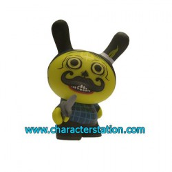 Dunny Azteca 2 Yellow by Saner