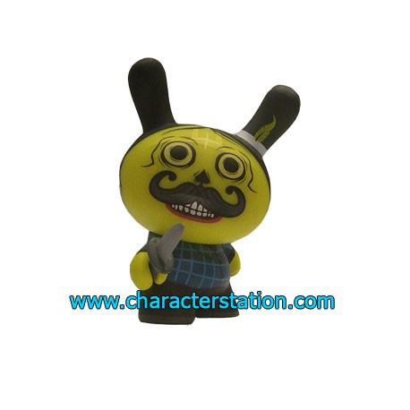 Figur Dunny Azteca 2 Yellow by Saner Kidrobot Geneva Store Switzerland