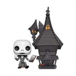 Figurine Pop Town Nightmare Before Christmas Jack with Jack's House Funko Boutique Geneve Suisse