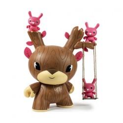 Figurine Dunny 50 cm Autumn Stag Brown par Gary Ham Kidrobot Boutique Geneve Suisse