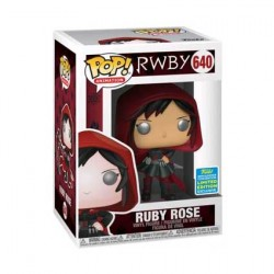 Figurine Pop SDCC 2019 RWBY Ruby Rose with Hood Edition Limitée Funko Boutique Geneve Suisse