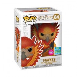Figur Pop SDCC 2019 Harry Potter Fawkes Flocked Limited Edition Funko Geneva Store Switzerland