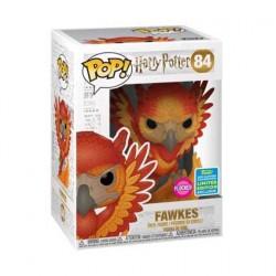 Figuren Pop SDCC 2019 Harry Potter Fawkes Flocked Limitierte Auflage Funko Genf Shop Schweiz