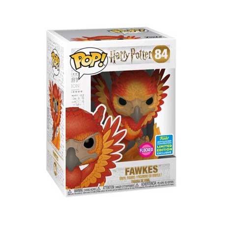 Figurine Pop SDCC 2019 Harry Potter Fawkes Flocked Edition Limitée Funko Boutique Geneve Suisse