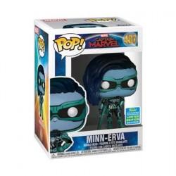 Figurine Pop SDCC 2019 Captain Marvel Minn-Erva Edition Limitée Funko Boutique Geneve Suisse