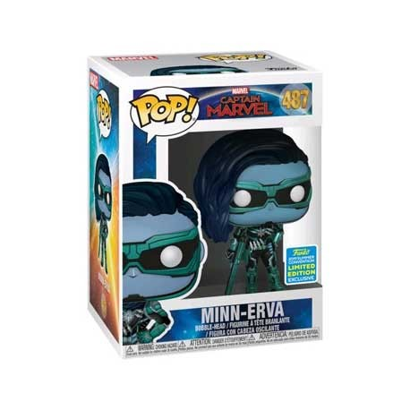 Toys Pop SDCC 2019 Captain Marvel Minn-Erva Limited Edition Funko S