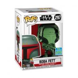 Figurine Pop SDCC 2019 Star Wars Boba Fett Vert Chrome Edition Limitée Funko Boutique Geneve Suisse