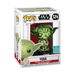 Figuren Pop SDCC 2019 Star Wars Yoda Grün Chrome Limitierte Auflage Funko Genf Shop Schweiz