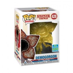 Figurine Pop SDCC 2019 Stranger Things Demogorgon Métallique Gold Edition Limitée Funko Boutique Geneve Suisse