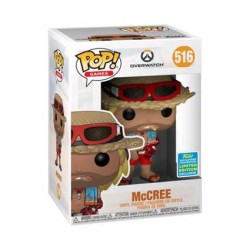 Figur Pop SDCC 2019 Overwatch McCree Summer Skin Limited Edition Funko Geneva Store Switzerland
