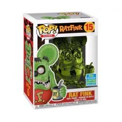 Figur Pop SDCC 2019 Rat Fink Green Chrome Limited Edition Funko Geneva Store Switzerland