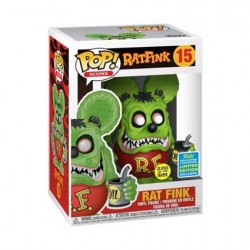 Figurine Pop SDCC 2019 Rat Fink Phosphorescent Edition Limitée Funko Boutique Geneve Suisse