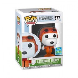 Figur Pop SDCC 2019 Peanuts Astronaut Snoopy Limited Edition Funko Geneva Store Switzerland
