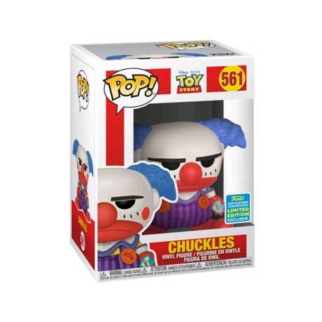 Figur Pop SDCC 2019 Disney Toy Story Chuckles Limited Edition Funko Geneva Store Switzerland