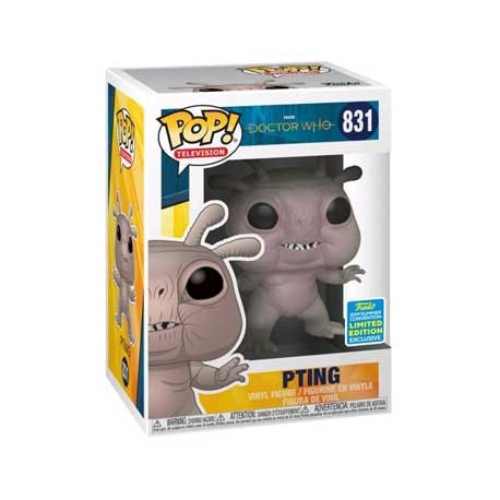 Figur Pop SDCC 2019 Doctor Who Pting Limited Edition Funko Geneva Store Switzerland