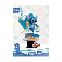 Figurine Disney Select Stitch Surf Diorama Beast Kingdom Boutique Geneve Suisse
