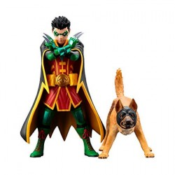 Figurine DC Comics Batman Robin and Bat-Hound Artfx+ Statue Kotobukiya Boutique Geneve Suisse