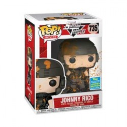 Figurine Pop SDCC 2019 Starship Troopers Johnny Rico Blood-Splattered Edition Limitée Funko Boutique Geneve Suisse