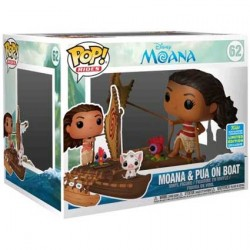 Figur Pop SDCC 2019 Disney Moana & Pua on Boat Limited Edition Funko Geneva Store Switzerland