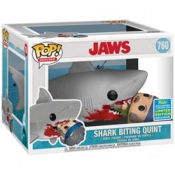 Figur Pop SDCC 2019 Jaws Eating Quint Limited Edition Funko Geneva Store Switzerland