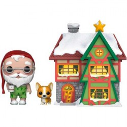 Figuren Pop Town Holiday Santa's House with Santa and Nutmeg Funko Genf Shop Schweiz
