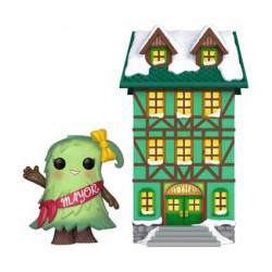 Figuren Pop Town Holiday Town Hall with Mayor Patty Noble Funko Genf Shop Schweiz