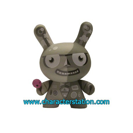 Figur Dunny 2Tone by Tad Carpenter Kidrobot Dunny and Kidrobot Geneva