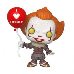 Figurine Pop It Chapter 2 Pennywise with Balloon Funko Boutique Geneve Suisse