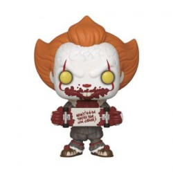 Figurine Pop It Chapter 2 Pennywise with Skateboard Edition Limitée Funko Boutique Geneve Suisse
