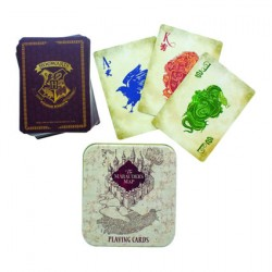 Figur Harry Potter Marauder's Map Playing Cards Paladone Geneva Store Switzerland