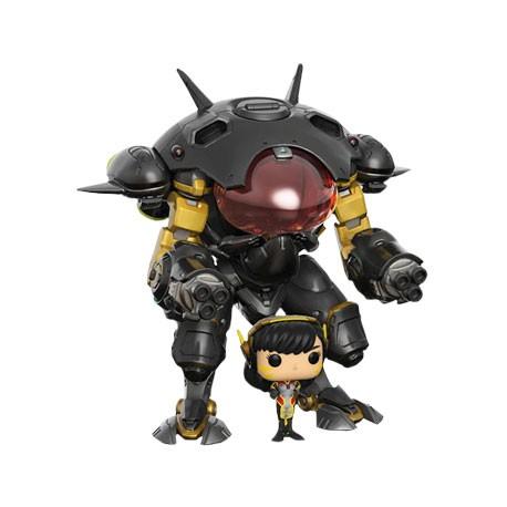 Figurine Pop 15 cm Overwatch D.Va & MEKA Carbon Fibre Edition Funko Boutique Geneve Suisse