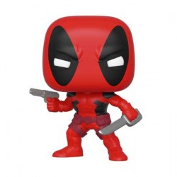 Figurine Pop Marvel 80th Anniversary First Appearance Deadpool Funko Boutique Geneve Suisse