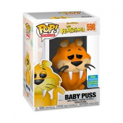 Figurine Pop SDCC 2019 The Flintstones Baby Puss Edition Limitée Funko Boutique Geneve Suisse
