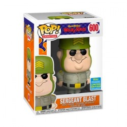 Figur Pop SDCC 2019 Hanna Barbera Wacky Races Sergeant Blast Limited Edition Funko Geneva Store Switzerland