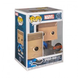 Figurine Pop Spider-Man Bombastic Bag-Man Edition Limitée Funko Boutique Geneve Suisse