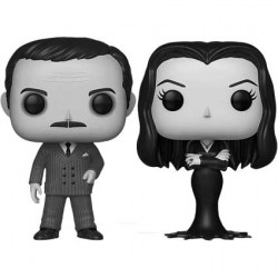 Figuren Pop The Addams Family 1964 Gomez und Morticia Addams Black and White 2-Pack Limitierte Auflage Funko Genf Shop Schweiz