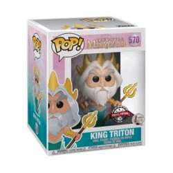 Figurine Pop 15 cm The Little Mermaid King Triton Edition Limitée Funko Boutique Geneve Suisse