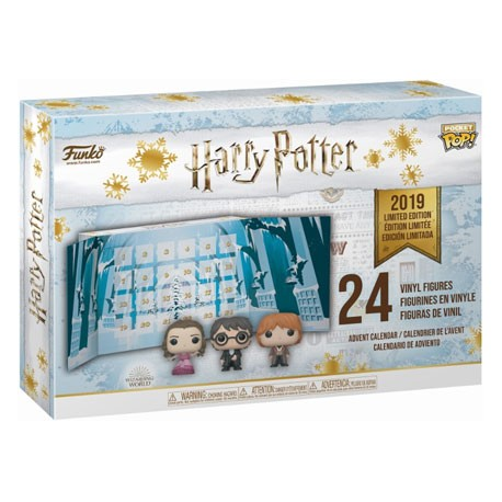 Figurine Pop Pocket Harry Potter Calendrier de l'Avent (24 pcs) V2 Funko Boutique Geneve Suisse