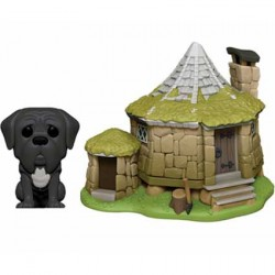 Figurine Pop Town Harry Potter Hagrid's Hut with Fang Funko Boutique Geneve Suisse