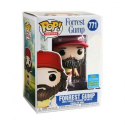 Figurine Pop SDCC 2019 Forrest Gump with Beard Edition Limitée Funko Boutique Geneve Suisse