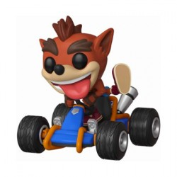 Figurine Pop Ride Crash Team Racing Crash Bandicoot Funko Boutique Geneve Suisse