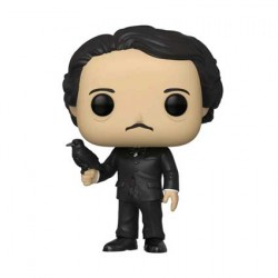 Figuren Pop Icons Edgar Allan Poe with Raven Limitierte Auflage Funko Genf Shop Schweiz