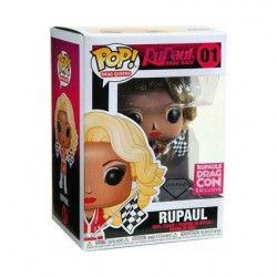 Figurine Pop Diamond Drag Queens Rupaul Drag Race DragCon Edition Limitée Funko Boutique Geneve Suisse