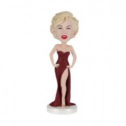 Figurine Marilyn Monroe Bobble Head en Résine Royal Bobbleheads Boutique Geneve Suisse