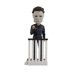 Figur Michael Myers Bobble Head Cold Resin Royal Bobbleheads Geneva Store Switzerland