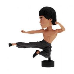 Figurine Bruce Lee Computer Sitter Bobble Head en Résine Royal Bobbleheads Boutique Geneve Suisse