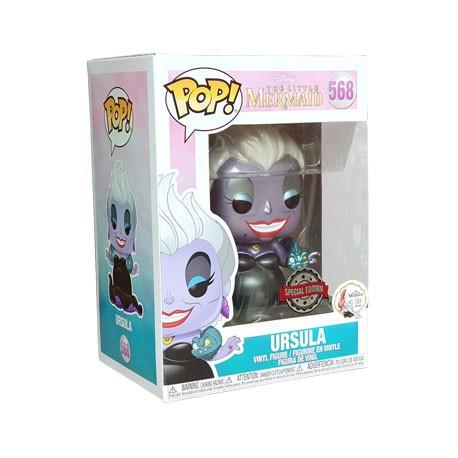 Figur Pop Disney Little Mermaid Metallic Ursula with Eels Limited Edition Funko Geneva Store Switzerland