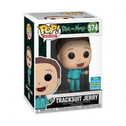Figur Pop SDCC 2019 Rick and Morty Jerry in Tracksuit Limited Edition Funko Geneva Store Switzerland